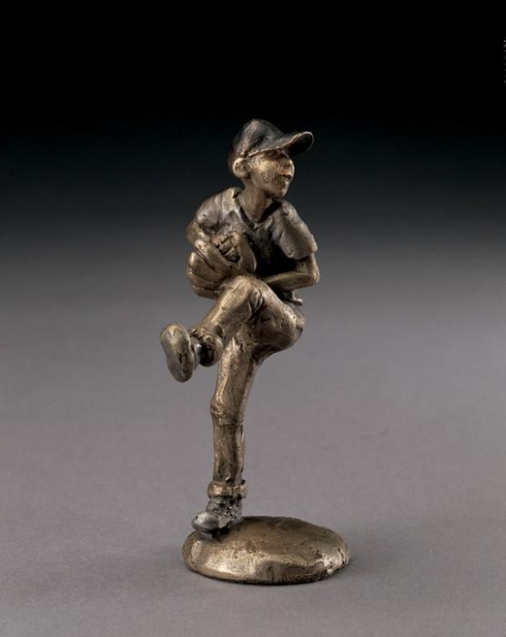 Mark HopkinsWind UpBronze Sculpture