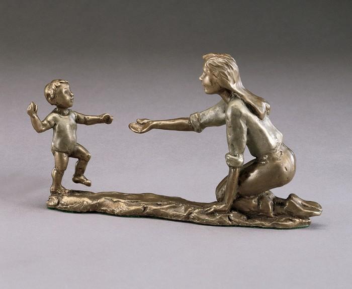 Mark HopkinsFirst StepsBronze Sculpture