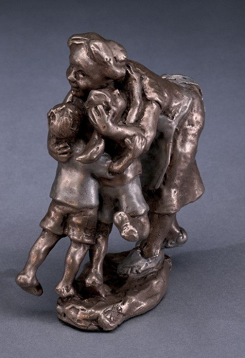 Mark Hopkins Grandma! Bronze Sculpture