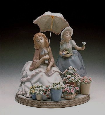 Lladro Flowers For Sale 1989-2000 Porcelain Figurine