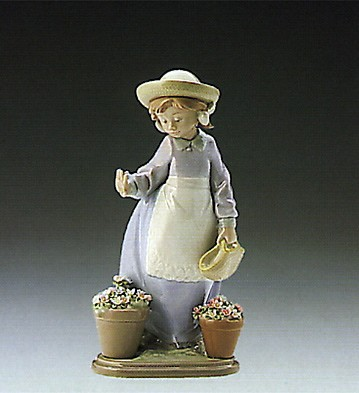 Lladro Hello Flowers 1989-93