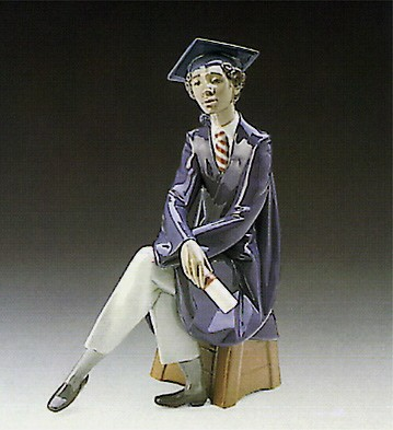 Lladro Black Legacy Only The Beginning 1989-96 Porcelain Figurine