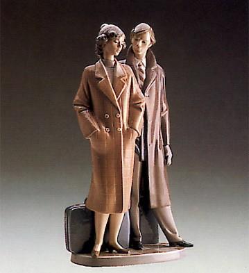 LladroSad Parting 1989-91Porcelain Figurine
