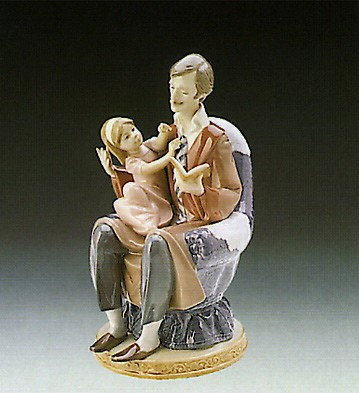 Lladro Daddy's Girl 1989-96