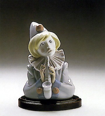 Lladro Sad Note Clown 1989-93
