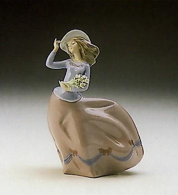 LladroSpring Breeze 1989-93Porcelain Figurine