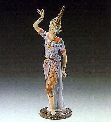 LladroMale Siamese Dancer 1989-93