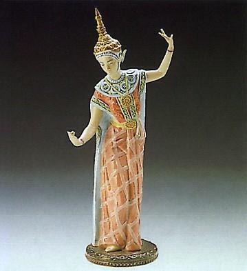 LladroFemale Siamese Dancer 1989-93