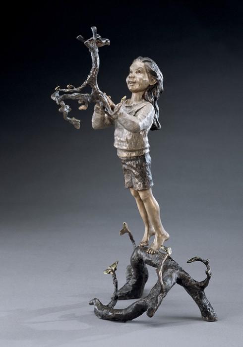 Mark HopkinsFriends in High PlacesBronze Sculpture