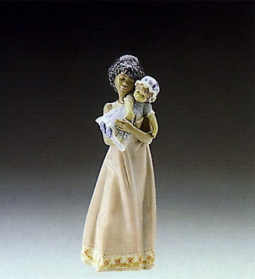 Lladro Baby Doll 1989-98 Porcelain Figurine