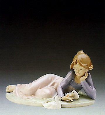LladroPlayful Friends 1989-95Porcelain Figurine