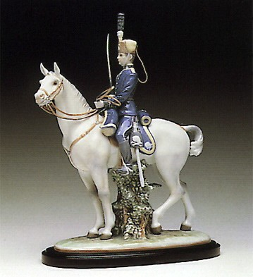 Lladro The Kings Guard 1990-93 Porcelain Figurine