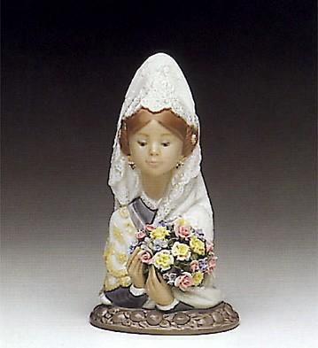 LladroValencian Flowers 1990-93