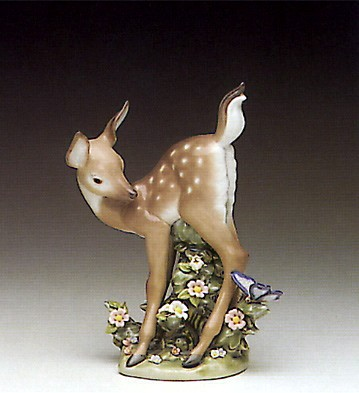 Lladro Hi There 1990-96 Porcelain Figurine