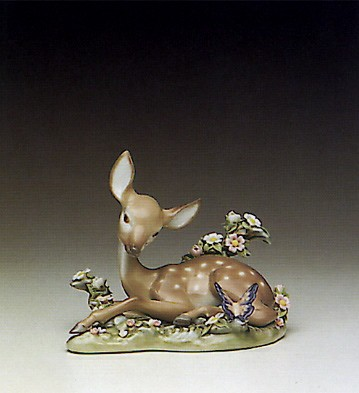 LladroA Quiet Moment 1990-97Porcelain Figurine