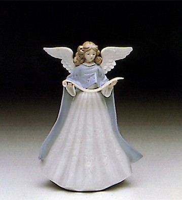 Lladro Tree Topper (Blue) Porcelain Figurine
