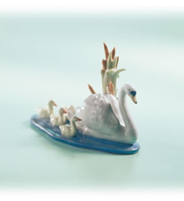 Retired Lladro Follow Me 1990-04