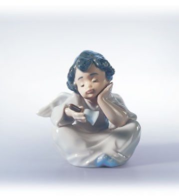 Lladro Heavenly Chimes Porcelain Figurine