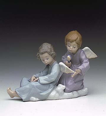 LladroAngel Care 1990-2000Porcelain Figurine