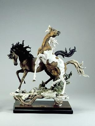 Giuseppe Armani Stallions Signed By Giuseppe Armani - Number 178 of 1500