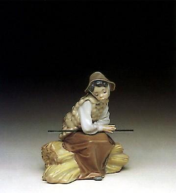 LladroOld Shepherdess 1991-96