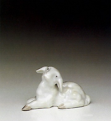 Lladro Little Lamb 1991-96 Porcelain Figurine