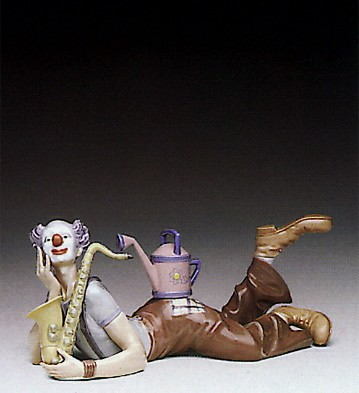 Lladro Seeds Of Laughter 1991-95 Porcelain Figurine