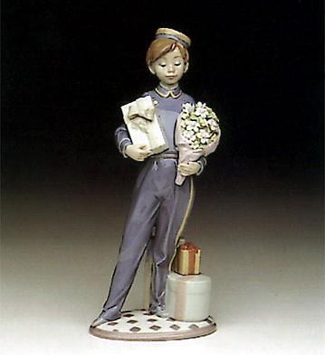 LladroSpecial Delivery 1991-94Porcelain Figurine