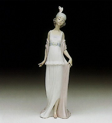LladroTalk Of The Town 1991-98Porcelain Figurine