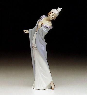 LladroThe Flirt 1991-98Porcelain Figurine