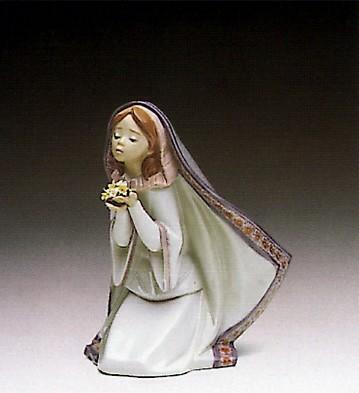 LladroReverant Moment 1991-94Porcelain Figurine
