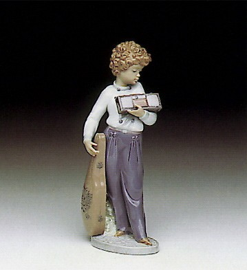 Lladro Musically Inclined 1991-93 *** Porcelain Figurine