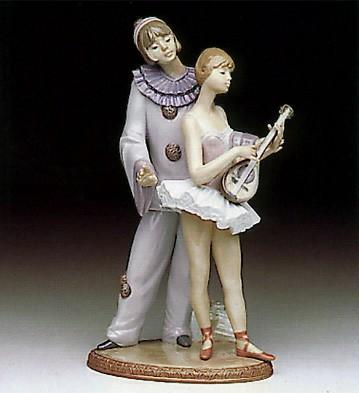 LladroMinstrals Ballet 1991-93Porcelain Figurine