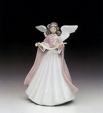 Lladro Tree Topper (Pink) Porcelain Figurine