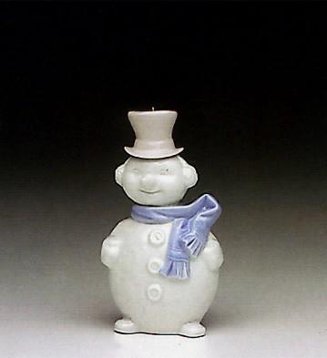 LladroSnowman Ornament 1991-93Porcelain Figurine