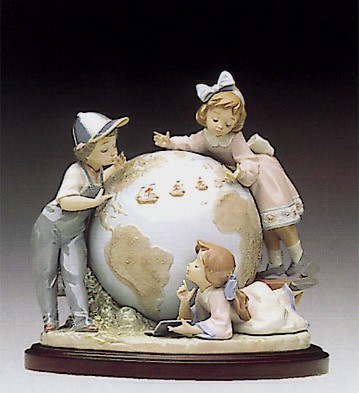 Lladro Voyage Of Columbus Le7500 1992-93