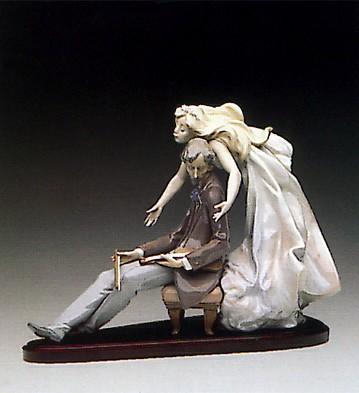 LladroInspiring Muse 1992-94Porcelain Figurine