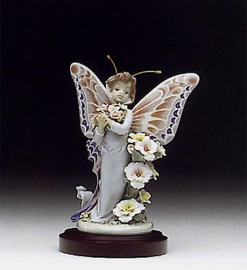 LladroFloral Fantasy 1992-95Porcelain Figurine
