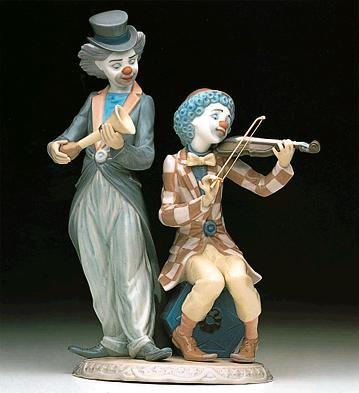 LladroCircus ConcertPorcelain Figurine