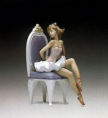 LladroDressing For The BalletPorcelain Figurine