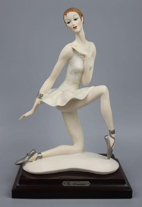 Giuseppe ArmaniKnelt Dancer (Ballerina) Signed