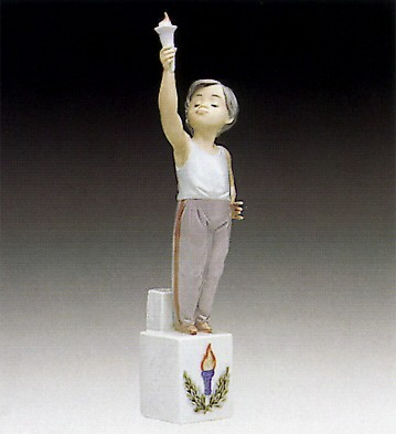 Lladro Olympic Torch 1992-94 ***
