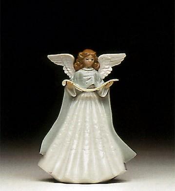 LladroTree Topper (Green) 1992 OnlyPorcelain Figurine