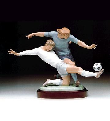 LladroShot On Goal 1992-99Porcelain Figurine