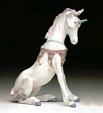 Lladro Playful Unicorn 1992-98