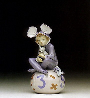Lladro Loving Mouse 1992-96 Porcelain Figurine