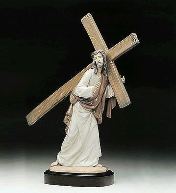 Lladro Way Of The Cross Le2000  1992-98 Porcelain Figurine