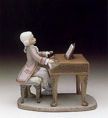 LladroYoung Mozart 1992 Le2500Porcelain Figurine