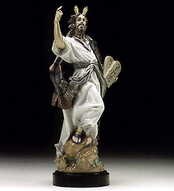 Lladro The Ten Commandments 1993-96 Porcelain Figurine