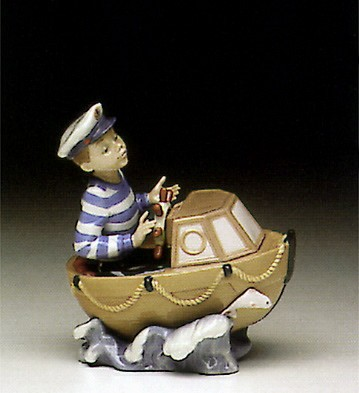 Lladro Little Skipper